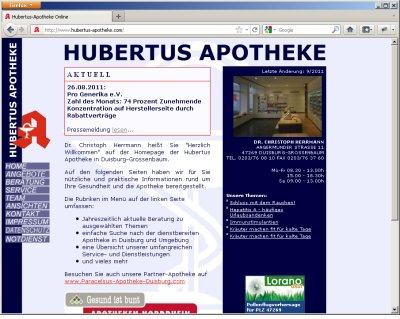 Hubertus-Apotheke Duisburg
