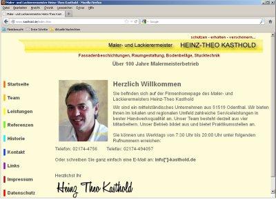 Firma Heinz-Theo Kasthold