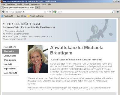 Anwaltskanzlei Michaela Bräutigam